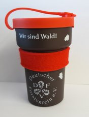 Der Forstvereins-Kaffeebecher aus Lignin
