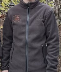 DFV-Fleece-Jacke von Chevalier, brown