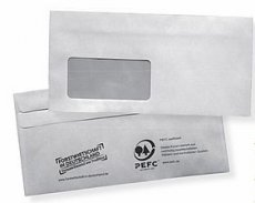 PEFC-zertifizierte Briefumschläge, DIN lang, mit Fenster