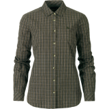 Seeland Claire Lady Bluse, olive night check