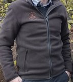 DFV-Fleece-Jacke von Chevalier, brown