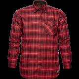Seeland Helt Hemd, biking red check